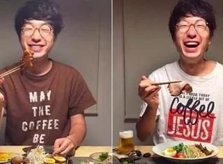 一碗好大的狗粮,日本夫妻餐桌日常