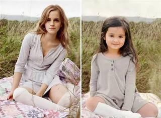 为了鼓励患癌的外祖母,3岁小女孩COS明星女强人,萌一脸!