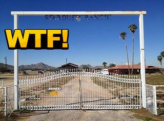 这间美国农场正在出售,据主人说里面有外星人