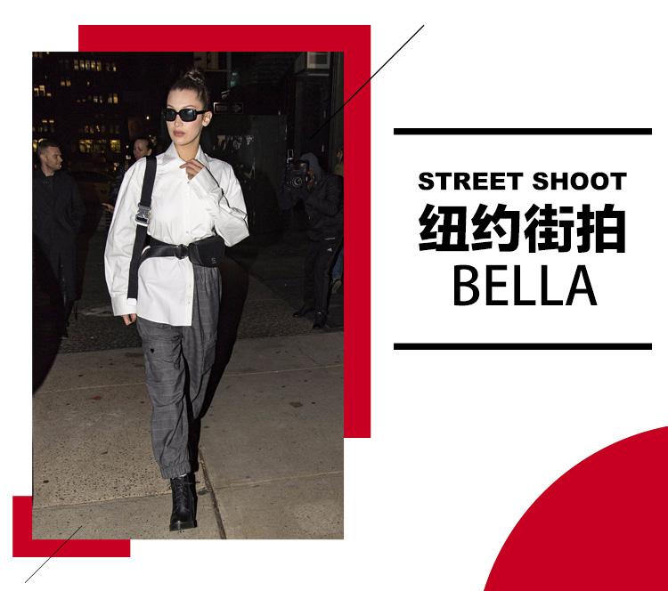 没有一个包包解决不了的难题,如果有就像Bella妹背两个!
