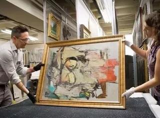 叔叔给他的一幅破画,居然值一亿多美刀!结果他转手2000元卖了?