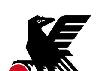 日本足协新LOGO居然是:黑!乌!鸦!