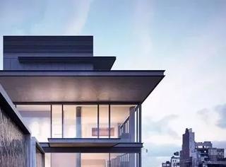安藤忠雄设计的公寓楼,顶层复式效果图公开,售价2.4亿