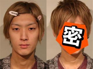 都说日本女生化妆前后是两个人,其实男生化起妆来才堪比换头!