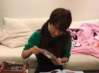 吴昕拼乐高装自行车好酷炫!变长发让厚刘海重出江湖的她驾驭发型能力百分百!