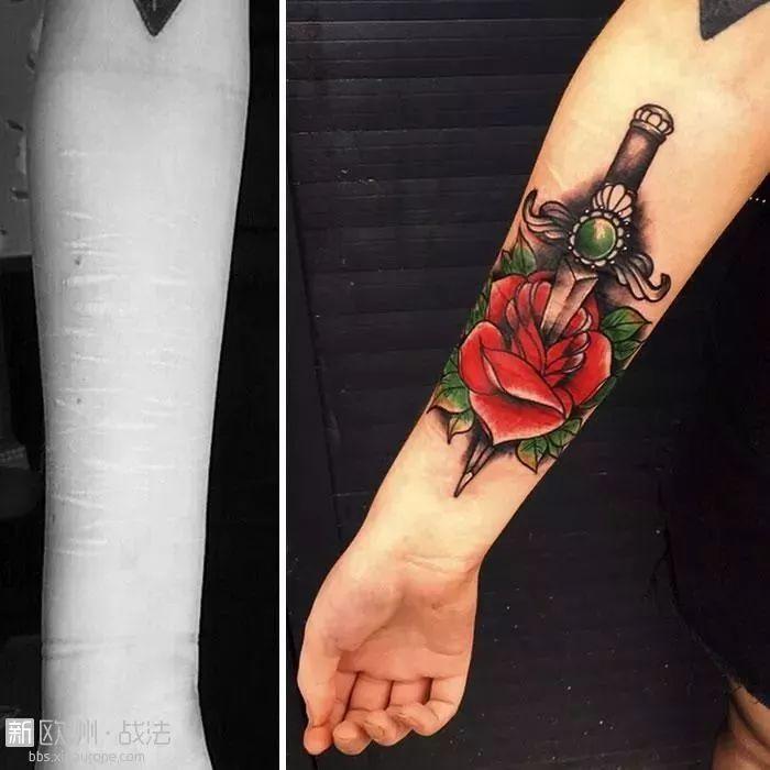 没人愿意帮助有自残史的少女忘掉过去,直到遇见这位纹身师...