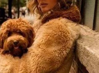 """响应环保不穿皮草?热巴周冬雨找到了新招,时髦变身温暖""""泰迪熊""""!"""