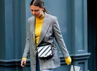 何穗景甜的高领打底衫,好看好搭好暖和