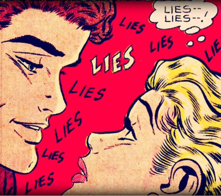 """""""那些说得最多的谎""""排行榜,""""我没有很喜欢你""""排32"""