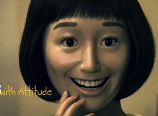 日本暗黑动画《态度娃娃》,爱笑的女孩可能运气也不会好哦!