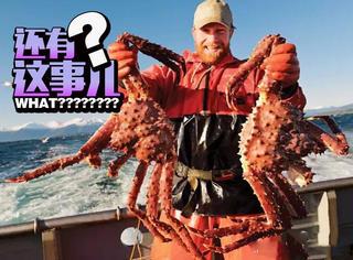 吃完丹麦生蚝和加拿大龙虾,现在可以去吃南极帝王蟹了