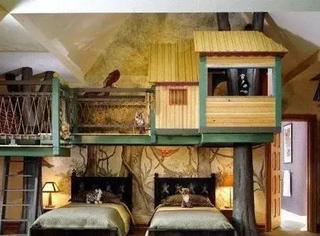 现在的儿童房的设计简直了,又来骗我生二胎!