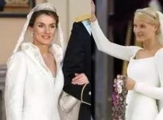 王室婚纱大盘点,原来王后公主们都钟爱。。。