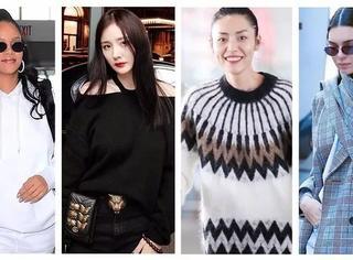 不止杨幂,这些女明星都争着做同款女王!