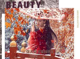 张天爱烈焰红唇妆性感优雅,实力再现大唐盛世极乐之美