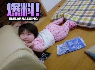 终于来了,日本父母热情晒照参加宝宝丑照大赛
