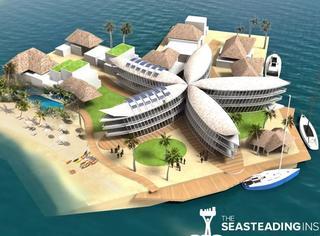 海上乌托邦!世界第一座海上漂浮城市将在2020年建成!