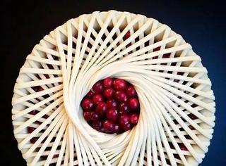 你不知道普通的Pie还可以这样做,满满的艺术气息啊~
