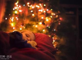 当拥有一个摄影师爸爸时,圣诞节时候的家会变成仙境...