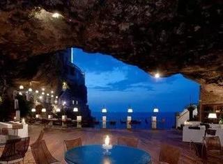 奇妙刺激的洞穴餐厅,让你能在悬崖峭壁上吃饭!