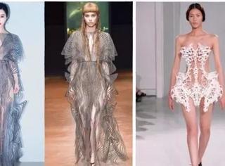 范冰冰3D裙惊艳全场,连刘雯也全裸演绎过