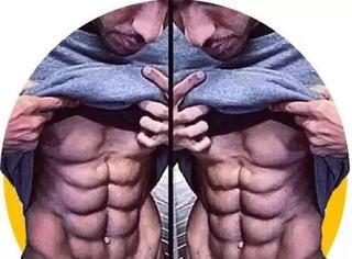 你的腹肌是什么形状?10块腹肌的全世界只有一位!