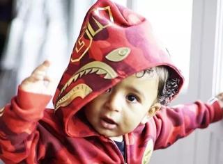 AJ收藏家,他儿子刚满一岁就成为时尚界新宠