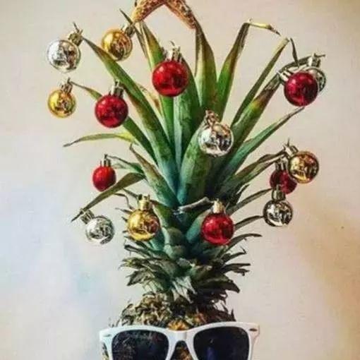 不用松树打造的ins风圣诞树,想要不一样的你快来DIY