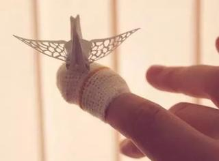 你折的只是千纸鹤,人家折的这叫凤凰!