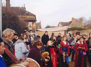 前方一手美图!在普罗万,过一个中世纪风情的圣诞节!