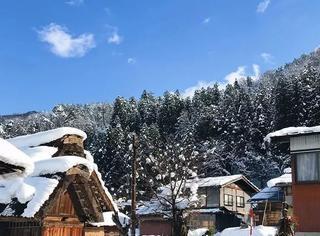 去日本看雪只知道北海道?不如来白川乡感受寂静、古朴之境