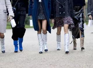大长腿的我看着短粗壮的你,我们中间只隔了一双正确的靴子
