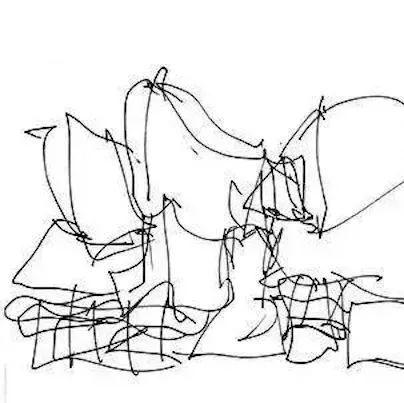 原来,建筑大师的手绘稿竟然还没小学生的水平高?