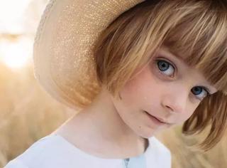 这个眼里藏着璀璨星辰的欧美小萝莉告诉你童话真的存在!