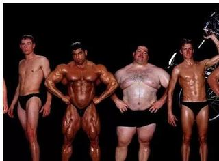 感受下各种体育运动的身材