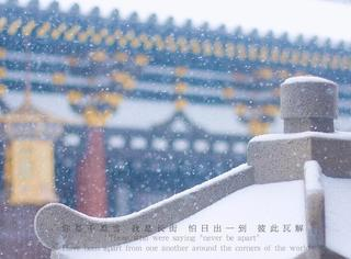 大半个中国今天都在下雪,2018真的没有理由不平安喜乐