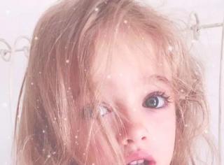 俄罗斯女孩堪称天使、伊朗妹子成全球最美女童...