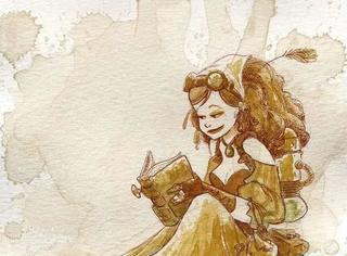 他用茶画出最美的作品,颠覆了所有人的想象