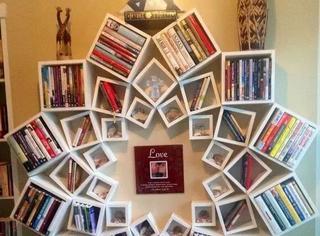 这才叫书架,你那只能叫货架!