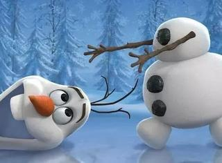 雪下得那么认真,就是这雪人不太正经!
