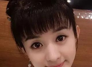 赵丽颖,你能不能别再梳齐刘海了?!