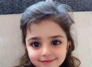 """伊朗8岁女童被封""""全球最美女童"""" 美到爸爸辞职当保镖"""