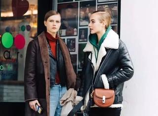 外套+外套,叠穿起来,实在太美了 ~!