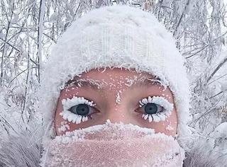 世上最冷村子:冷到睫毛结冰、温度计炸裂!