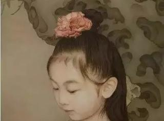 这位老爸把女儿装进国画里,3年画了15幅,还去办了展览?