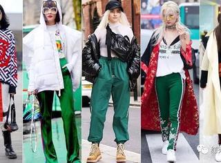 运动裤里能任性穿秋裤,冬季不怕冷
