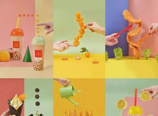 食物摄影大神拍了金拱门,创意超赞