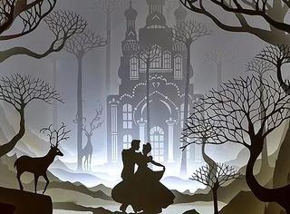 他以剪刀构筑纸雕,甚至剪出了浪漫的童话世界!