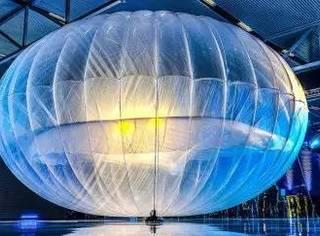 谷歌明年将用300颗网络气球包围地球