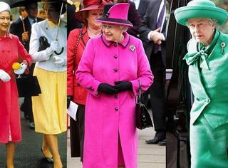 我心里永远的超模其实是英国女王伊丽莎白二世